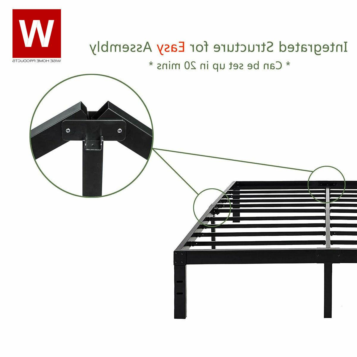CAL King Steel Bed - Cali Size Bed -