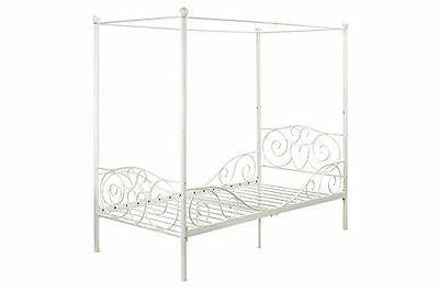 Princess Bed Canopy Furniture Metal Girls Kids New