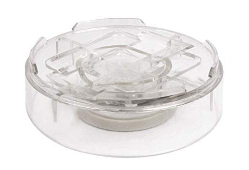 """Slipstick Inch Bed Risers 2"""", Clear Heavy"""
