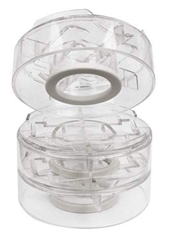 """Slipstick CB658 Inch Adjustable Bed Risers/Furniture Risers Height 1"""", 2"""", 3"""" Clear Duty"""