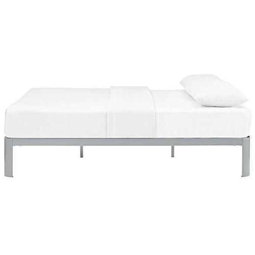 Modway Steel Full Modern Bed Frame with Slat