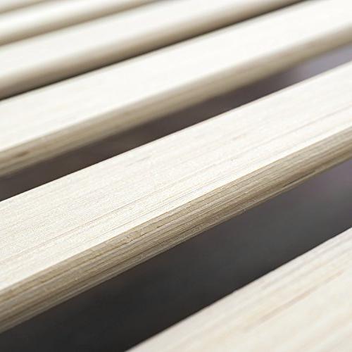 Zinus Moiz 14 Deluxe Platform / Spring Needed Wood Support King