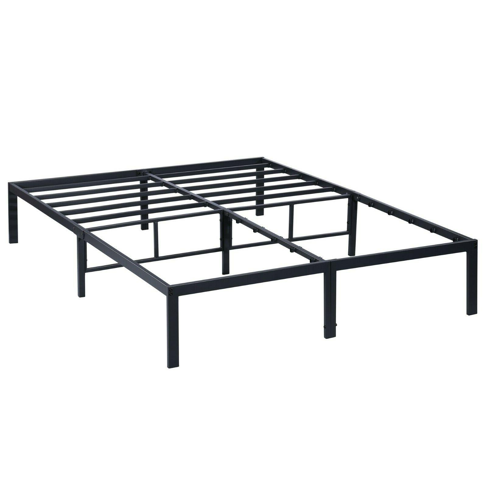 SLEEPLACE Dura Metal Steel Slate Bed Frame - S3000   14BF08