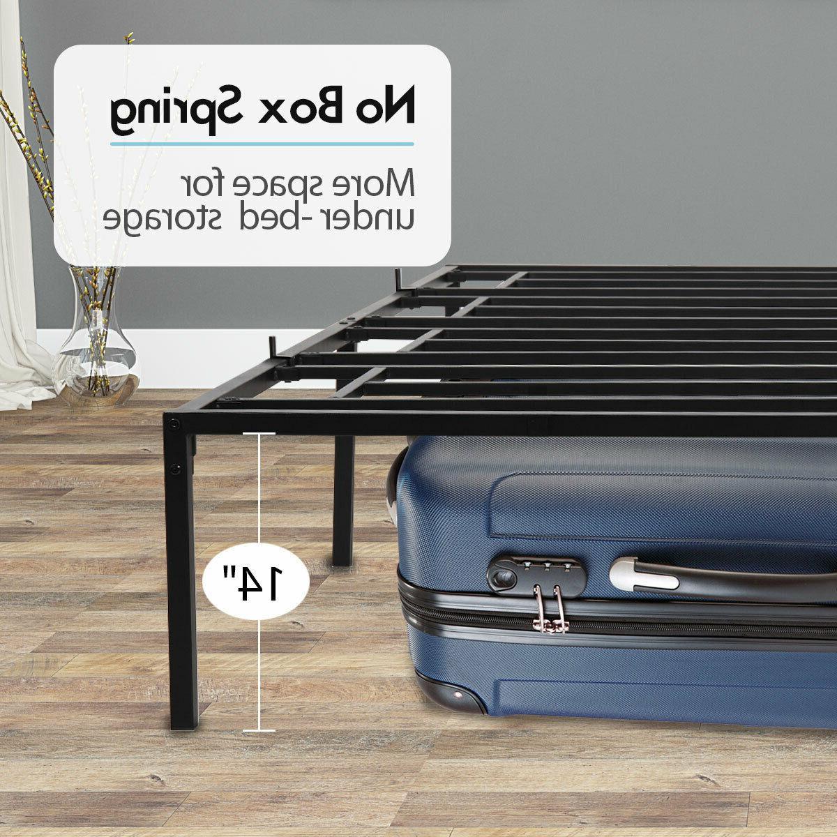 Easy Setup Platform Bed wUnder
