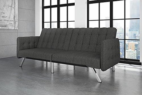 Swell Dhp Emily Convertible Futon And Sofa Sleeper Modern Short Links Chair Design For Home Short Linksinfo