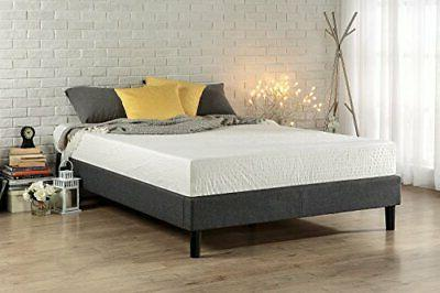 essential upholstered platform bed frame