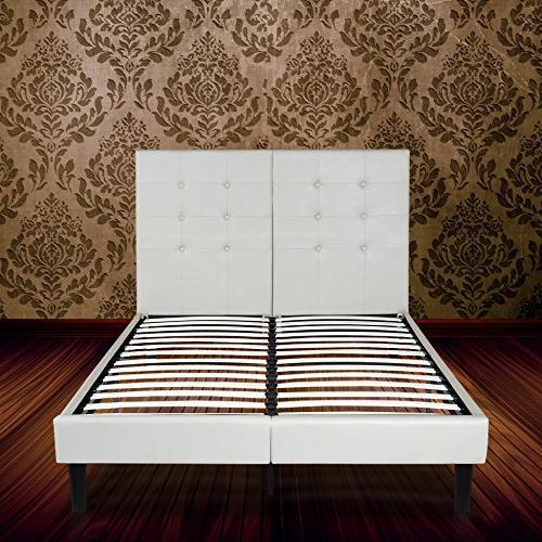 Olee Sleep Faux Wood Slate Bed 14PB03Q