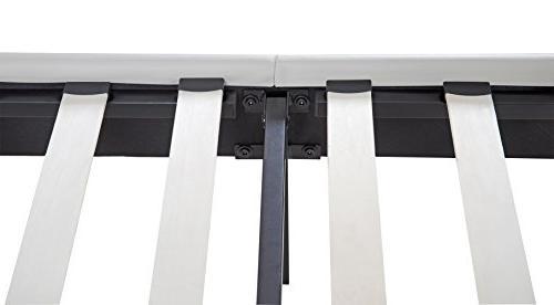 Wood Slate Folding Platform Bed Burton Queen 14PB03Q