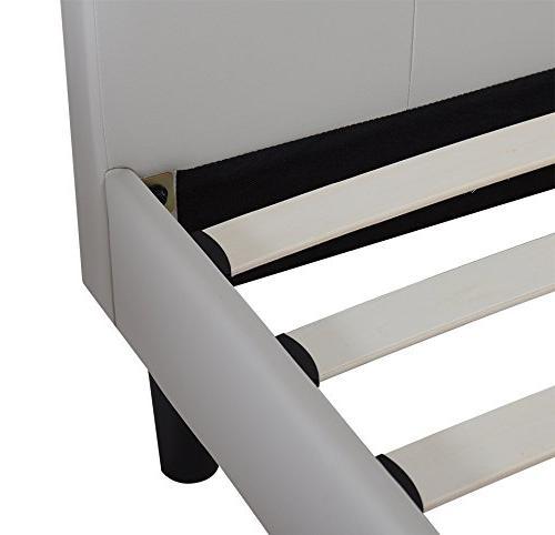 Olee Sleep Wood Slate Bed Frame Burton Queen 14PB03Q