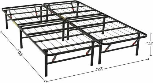 """AmazonBasics Foldable, 14"""" Metal Platform Tool-Free"""