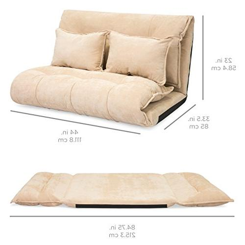Best Choice Products Floor Sofa w/ 2