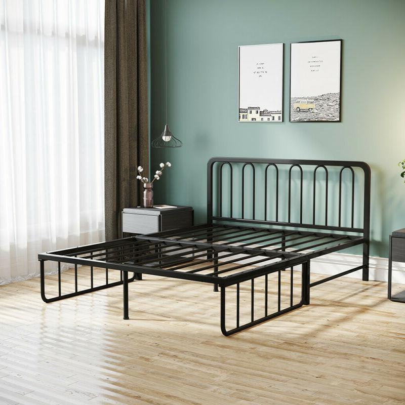 14 Inch Slat Bed Size Steel