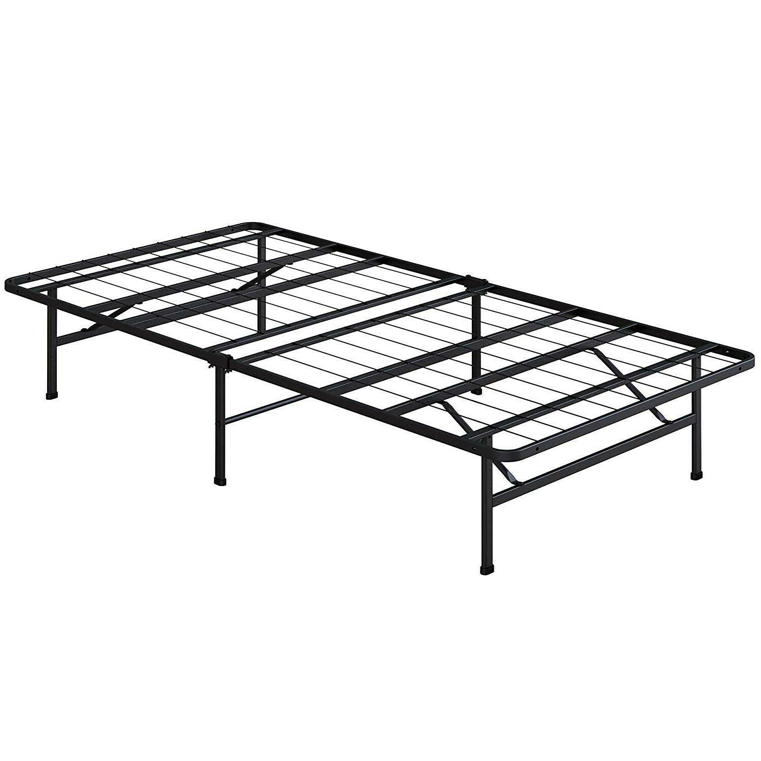 Folding Bed Platform Twin Inch Foundation Bed