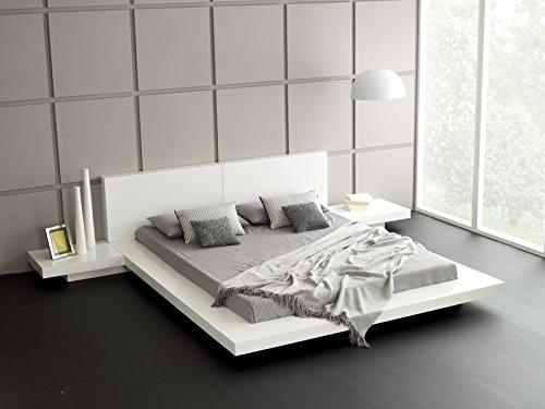 Matisse Fujian Modern Platform Bed 2, Fujian Platform Bed Queen