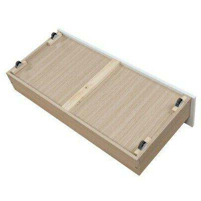 Full Over Full Bunk Bed Size Large Frame W/Drawer