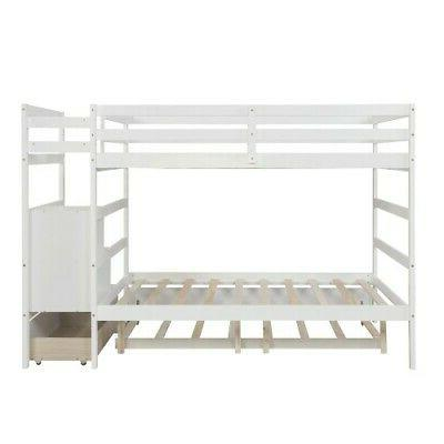 Full Bunk Bed With Size Large Frame W/Drawer
