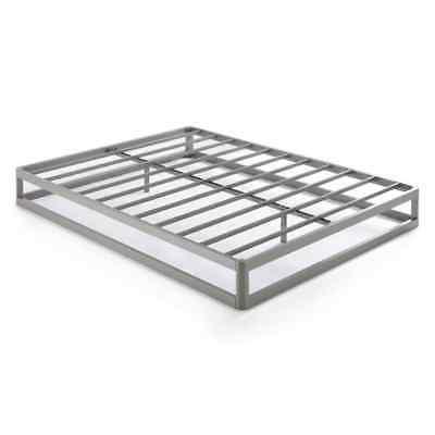 full size 9 inch metal platform bed