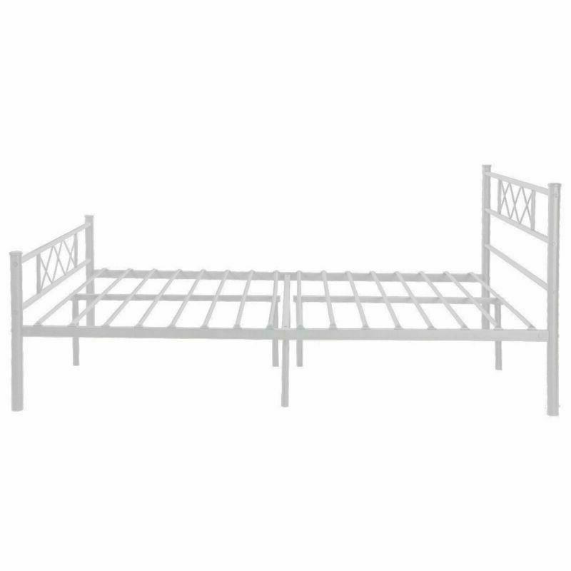 Full Metal Frame Bedroom Foundation with