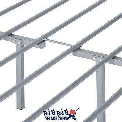 Full Size Metal Bed Frame Mattress Foundation Headboard
