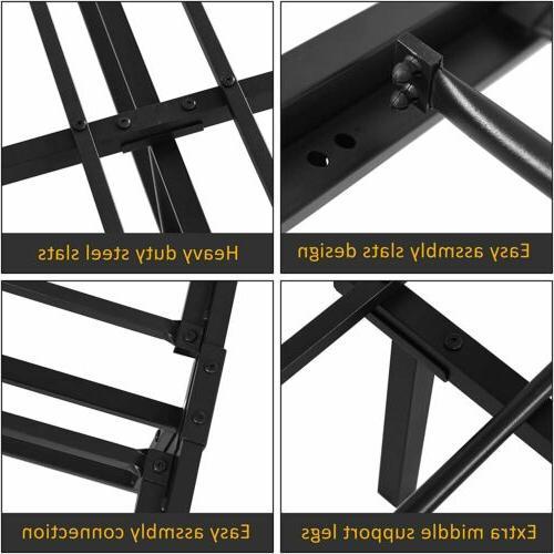 Full Size Metal Bed Frame Mattress