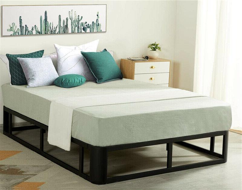 durable modern 12 inch metal platform bed
