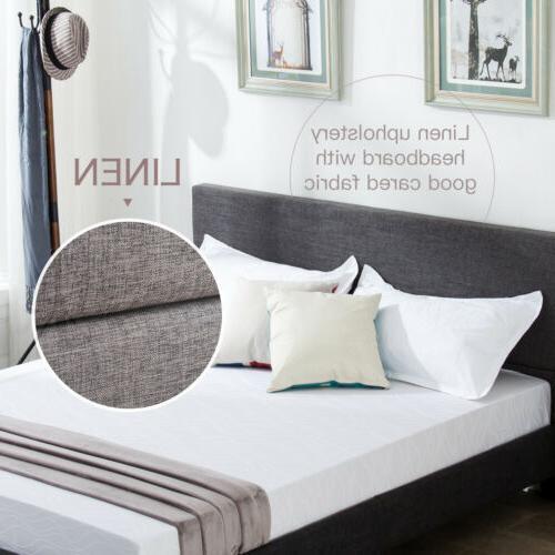 Full Size Frame Upholstered Bedroom Furniture