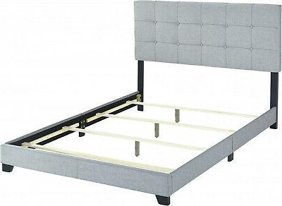 Frame Beds Wood Gray