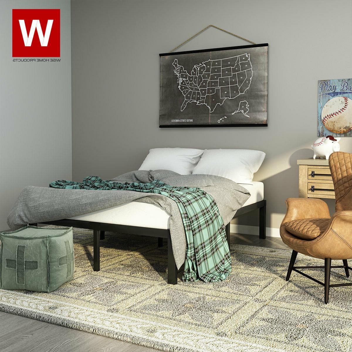 Full Bed Frame - Metal -