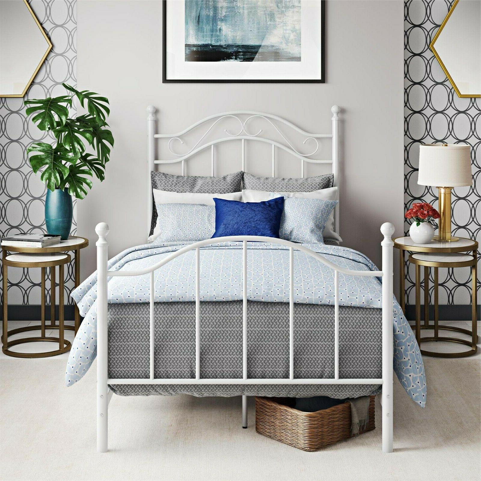 girl twin bed frame for kids boys