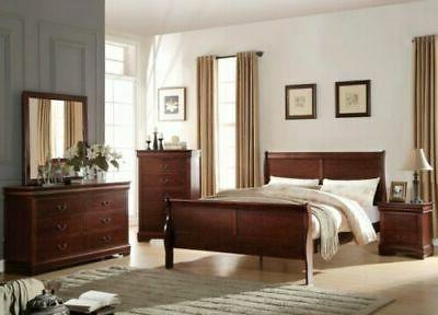 Modern King Bed Frame Headboard & Footboard