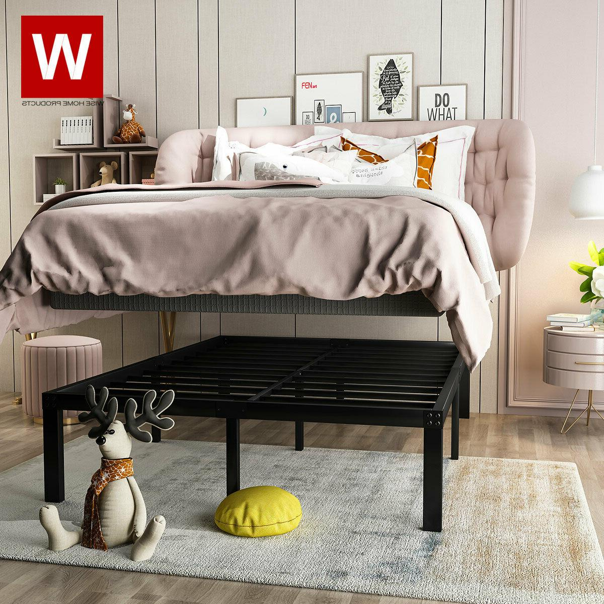 Heavy Steel Bed Frame Bed with -