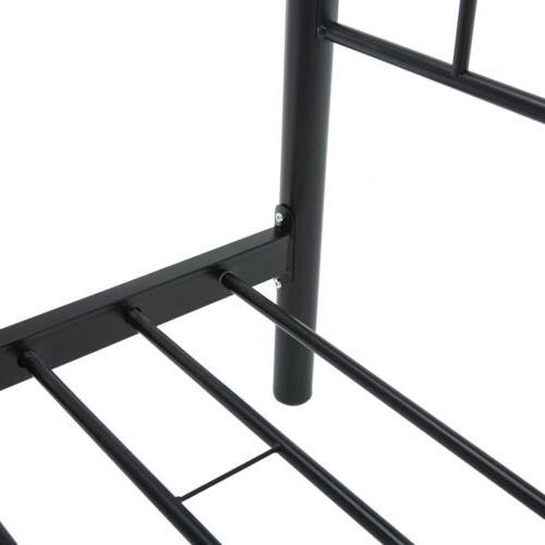 Twin Size Bed Frame platform w/Headboard Bedroom