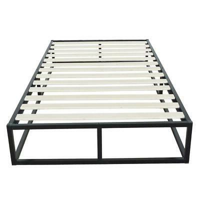 High Quality Iron Metal Bed Frame Black