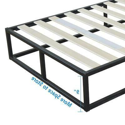 High Quality Iron Bed Metal Bed Black