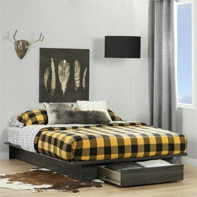 holland queen platform bed