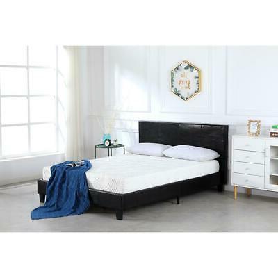 Metal Footboard Bedroom Black