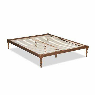 Baxton Size Platform Bed Frame