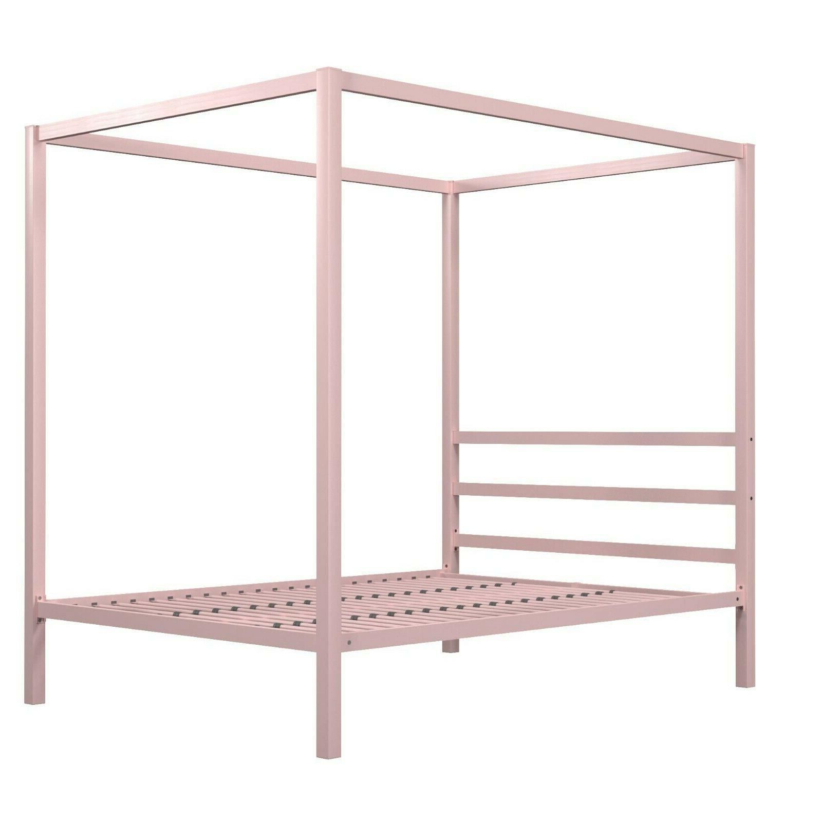 RealRooms Metal Modern Bed Frame, Colors Sizes