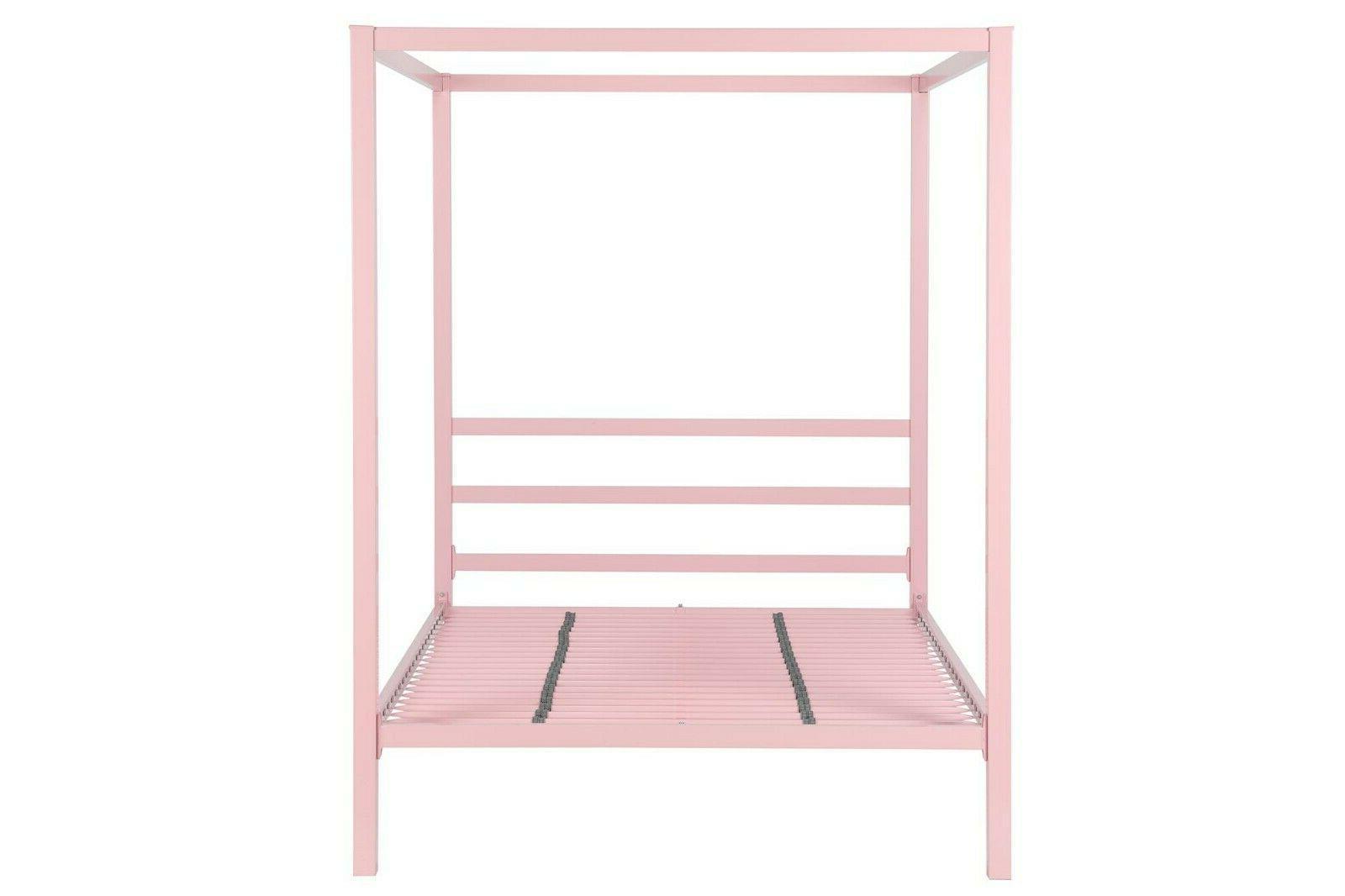 RealRooms Jasmine Metal Modern Bed Colors