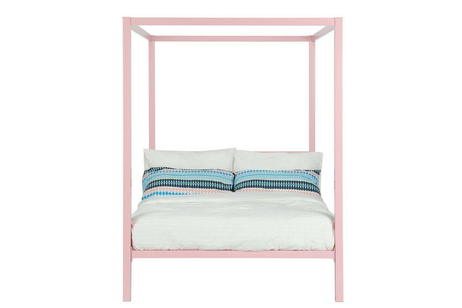 RealRooms Jasmine Metal Modern Frame, Colors and Sizes