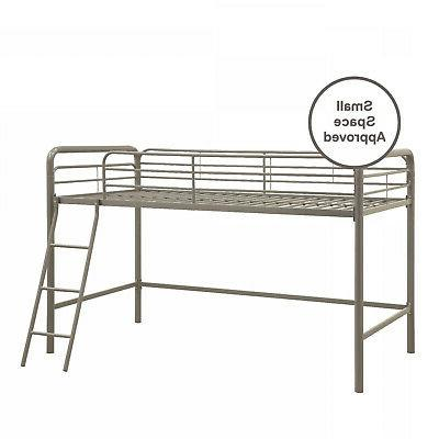 DHP Junior Bed Twin Silver