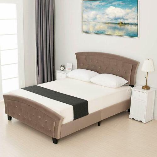 Full Upholstered Platform Furniture