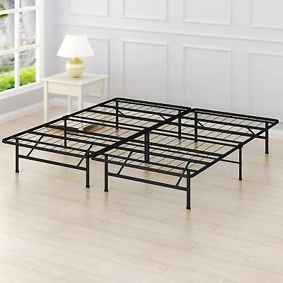 king mattress foundation platform bed