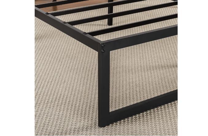 King Metal Bed Frame Full Steel