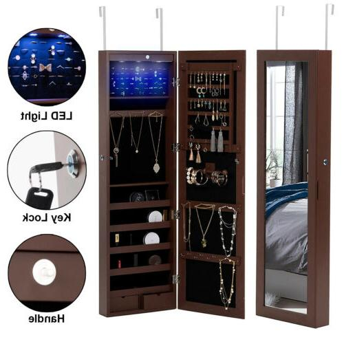 LED Armoire Organizer Stand Wall Mounted