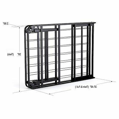 intelliBASE Lightweight Up Platform Bed Frame, Twin