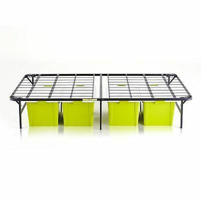 intelliBASE Lightweight Up Bi-Fold Platform Bed Twin