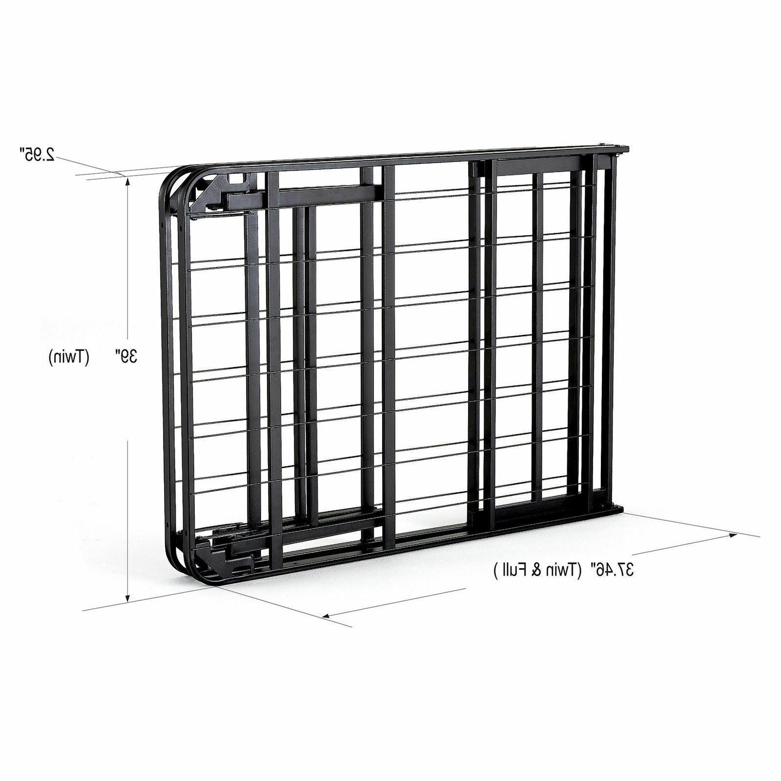 intelliBASE Set Up Platform Bed Frame, Twin