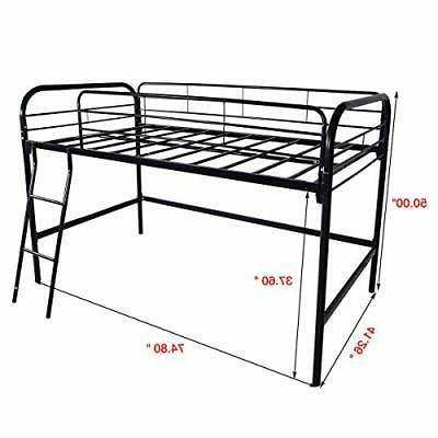 Loft Frame, High Sleeper Multipurpose Use Guardrails & One