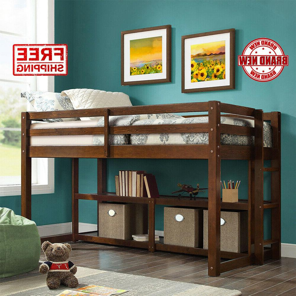 Loft Beds For Kids Teens Girls Boys Twin Size Lofted Bed Fra